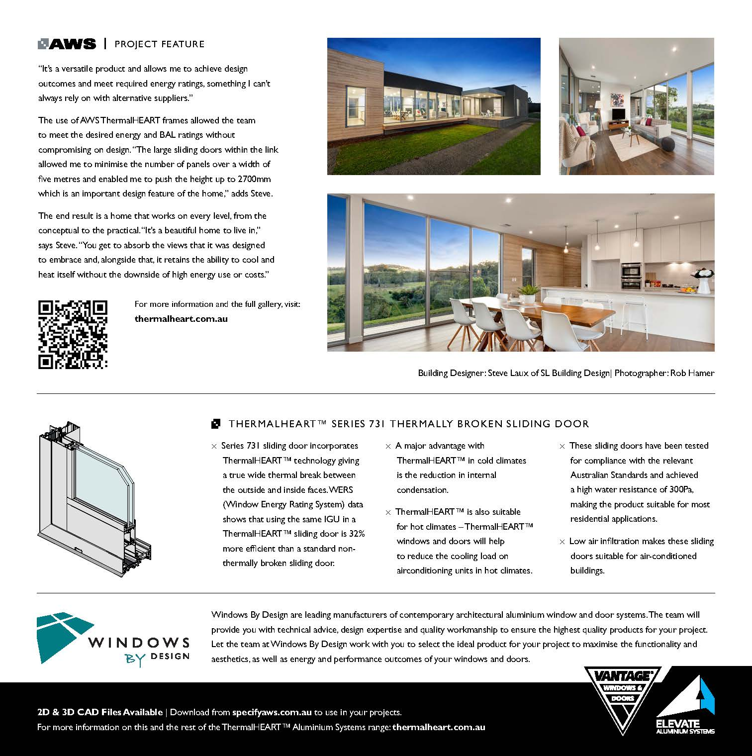 Page 2, AWS Kangaroo Ground project feature of Steve Laux Building Design