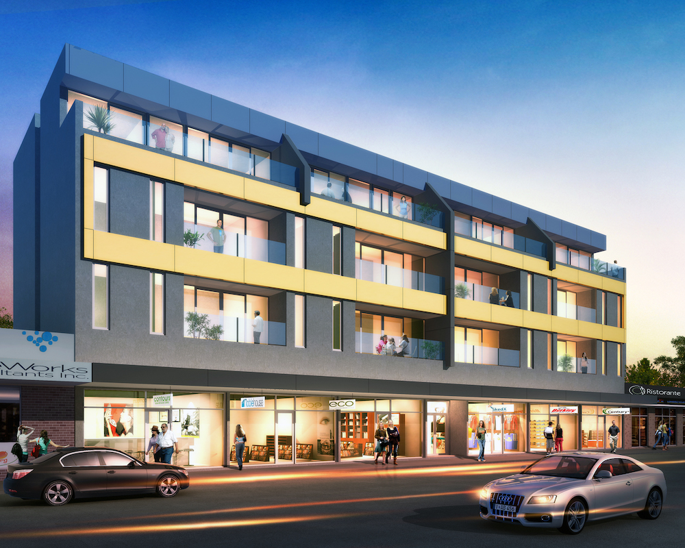 ian street noble park commercial steve laux building designs